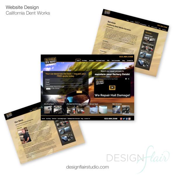 California Dent Works |Pleasanton Web Design