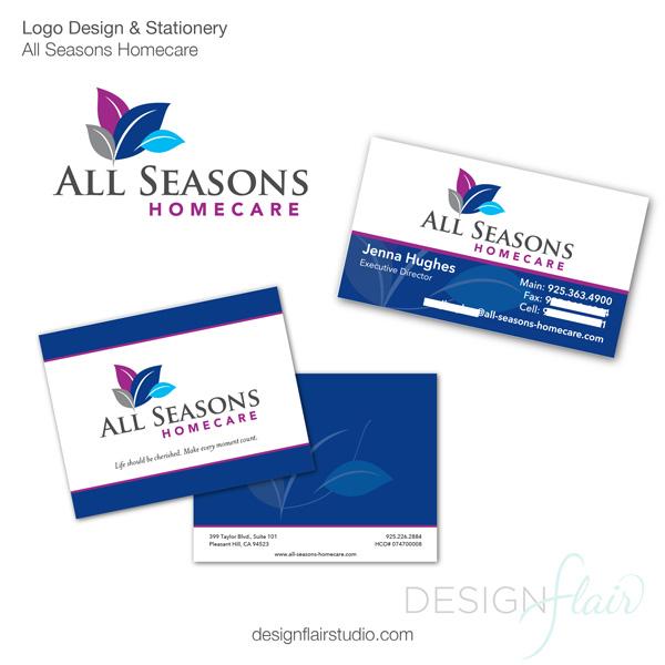 In-home Senior Care logo design