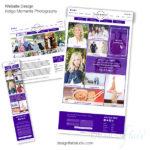 photography website design, custom photographer website