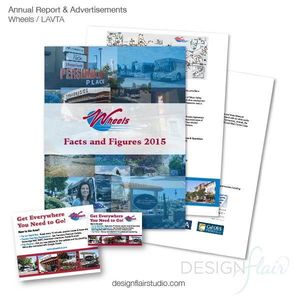 Wheels LAVTA Branding & Annual Report