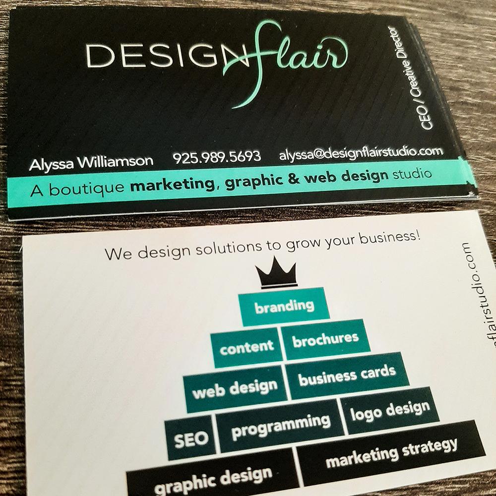 Designflair Business Card Design & Print