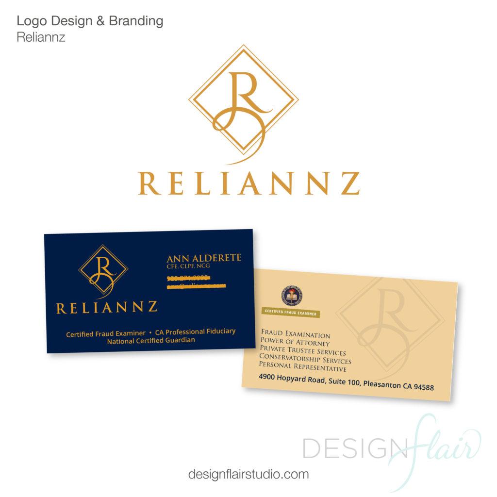 Reliannz Logo Design & Branding