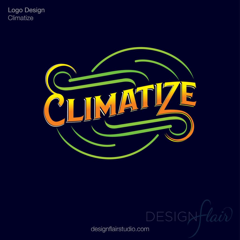 Climatize Logo Design