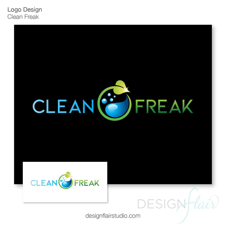 Logo Design Eugene - Clean Freak Services