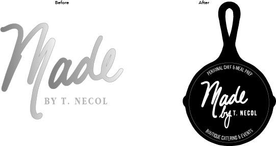 Personal Chef Logo development
